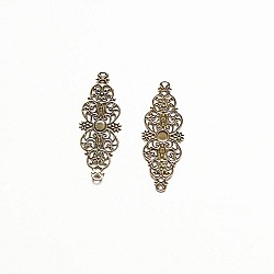 Metal Filigree Connectors for Mini Album (Set of 20 pcs)