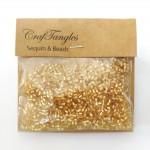 CrafTangles Pipe Beads - Amber Yellow