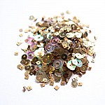 Antique Gold - CrafTangles Sequin and Bead Mixes