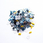 Designer Denim - CrafTangles Sequin and Bead Mixes