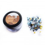 Designer Denim - CrafTangles Sequin and Bead Mixes Jar (30 gms)