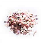 Glamarous Pink - CrafTangles Sequin and Bead Mixes