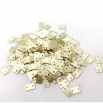 CrafTangles Sequins - Golden Rectangles
