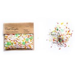 Happy Summer - CrafTangles Sequin and Bead Mixes