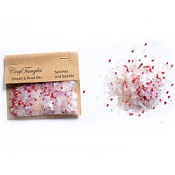Sprinkle and Sparkle - CrafTangles Sequin and Bead Mixes