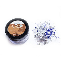 The Royals - CrafTangles Sequin and Bead Mixes Jar (30 gms)