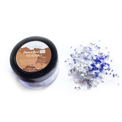 The Royals - CrafTangles Sequin and Bead Mixes Jar (30 gms)