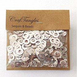 CrafTangles Sequins - Victorian Pink Rings