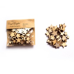 CrafTangles Shaker Elements - Wooden Stars