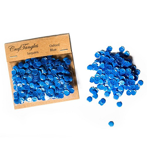 CrafTangles Sequins - Oxford Blue