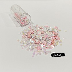 Shaker Sequin Elements - Shells and Stars