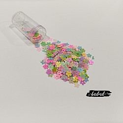 Shaker Sequin Elements - Colorful Flowers (CHSS-12)