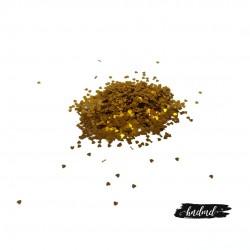 Craft Heart Sequins - Gold