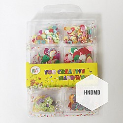 Mixed Sequins Pack - Flowers and Hearts