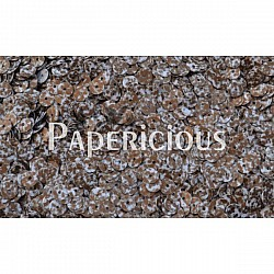 Papericious Sequins - Brown splashes