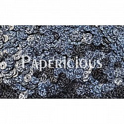 Papericious Sequins - Black Splashes (SEQ-T1013)