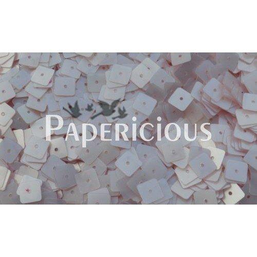 Papericious Square Sequins - Ivory (SEQ-SA1501)