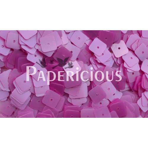 Papericious Square Sequins - Pink (SEQ-SA1601)