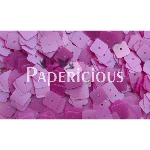 Papericious Square Sequins - Pink (SEQ-SA1601)
