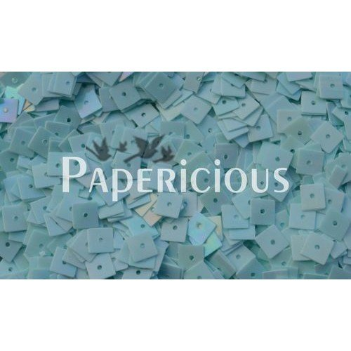 Papericious Square Sequins - Turqouise (SEQ-SRS2001)