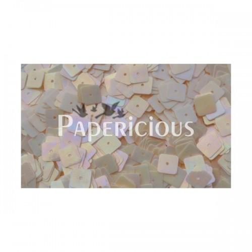 Papericious Square Sequins - Cream