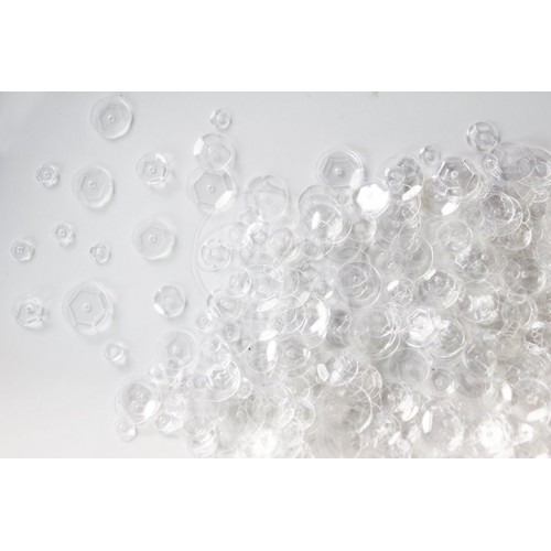 Mudra Couture Sequins - Clear