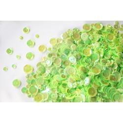 Mudra Couture Sequins - Radium Green