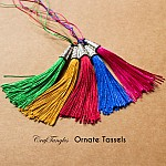 Ornate Tassels (Pack of 5)