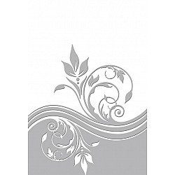"Couture Creations Embossing Folder - Breeze (5""X7"")"