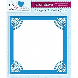 Embossing Folder - Art Deco (8 x 8 inch)