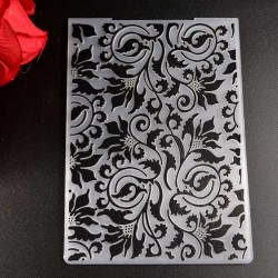 "Embossing Folder - Flourish (4""X6"")"