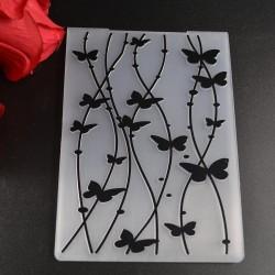 "Embossing Folder - Butterflies (4""X6"")"