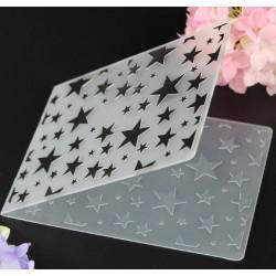 "Embossing Folder - Stars (4""X6"")"