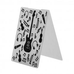 "Embossing Folder - Music (4""X6"")"