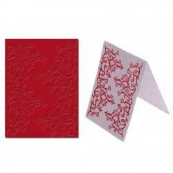 """Embossing Folder - Flower Vines (4""""X5.5"""")"""