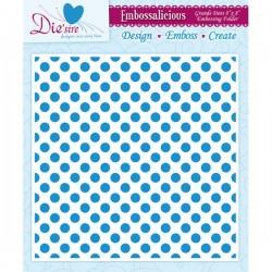 Embossing Folder - Grande Dots (8 x 8 inch)
