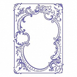 "Couture Creations Embossing Folder - Ease Embroidery (5""X7"")"