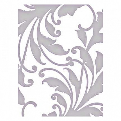 Couture Creations Embossing Folder - Large Hepburn (5X7)