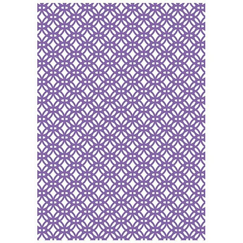 Couture Creations Embossing Folder - Zane (A6)