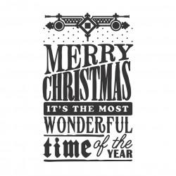 "Embossing Folder - Christmas Wonder (5""X7"")"