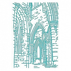 "Embossing Folder - Ancient Arches (5""X7"")"