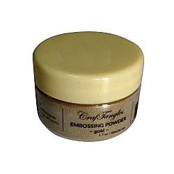 CrafTangles Embossing Powder - Gold (1.7 oz/50 ml)