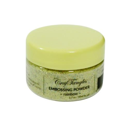 CrafTangles Embossing Powder - Rainbow (1.7 oz/50 ml)