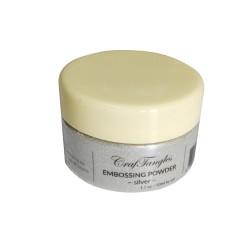 CrafTangles Embossing Powder - Silver (1.7 oz/50 ml)