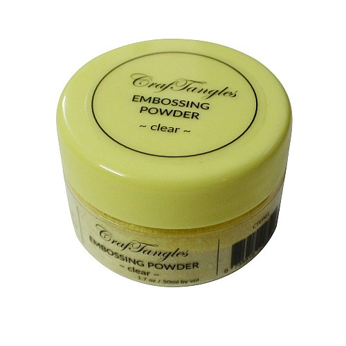 CrafTangles Embossing Powder - Clear(1.7 oz/50 ml)