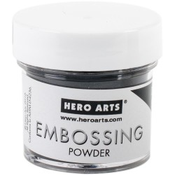Hero Arts Embossing Powder - Detail Black