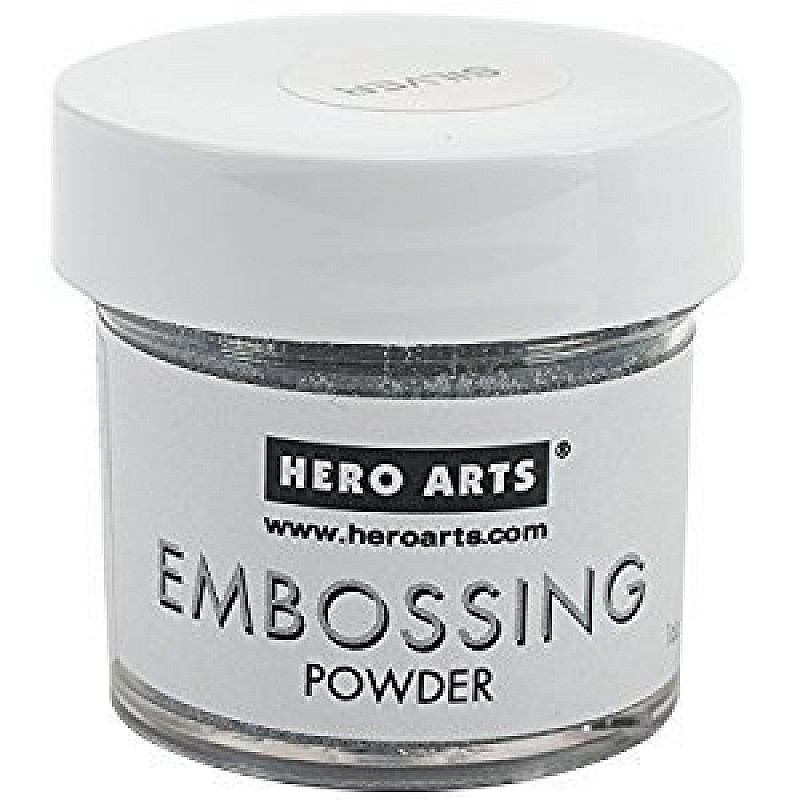 Hero arts silver embossing powder