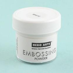 Hero Arts Embossing Powder - White