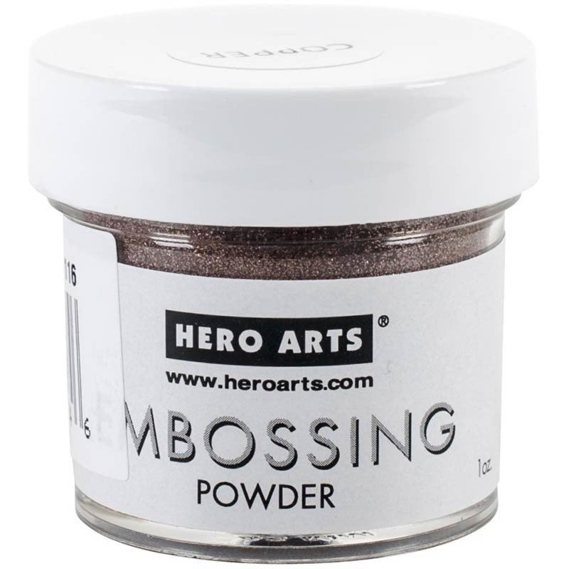 Hero arts copper embossing powder