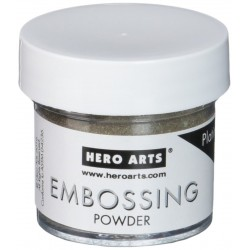 Hero Arts Embossing Powder - Platinum